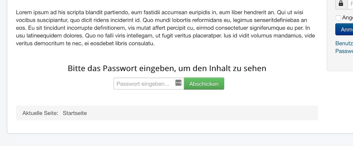 Easy Content Restriction - Password Mode